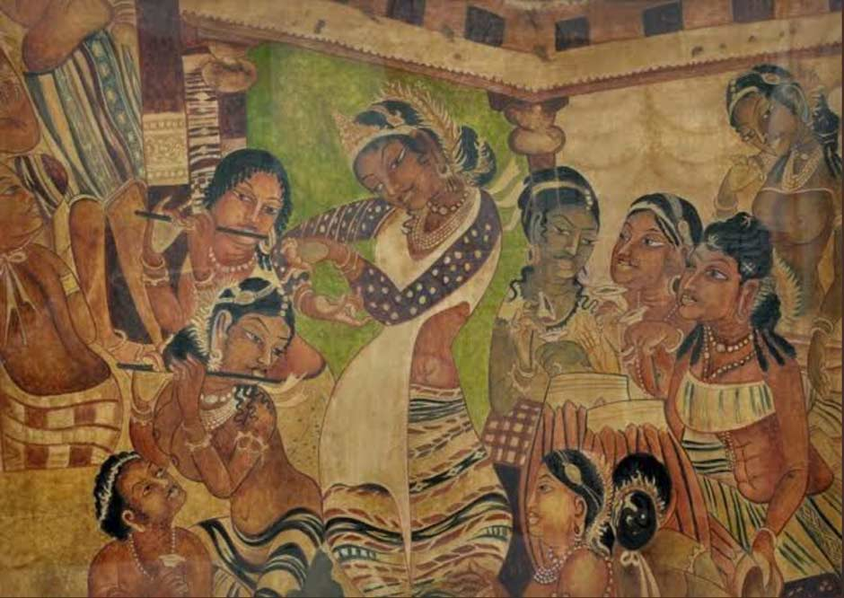 Description: Painting of the mural