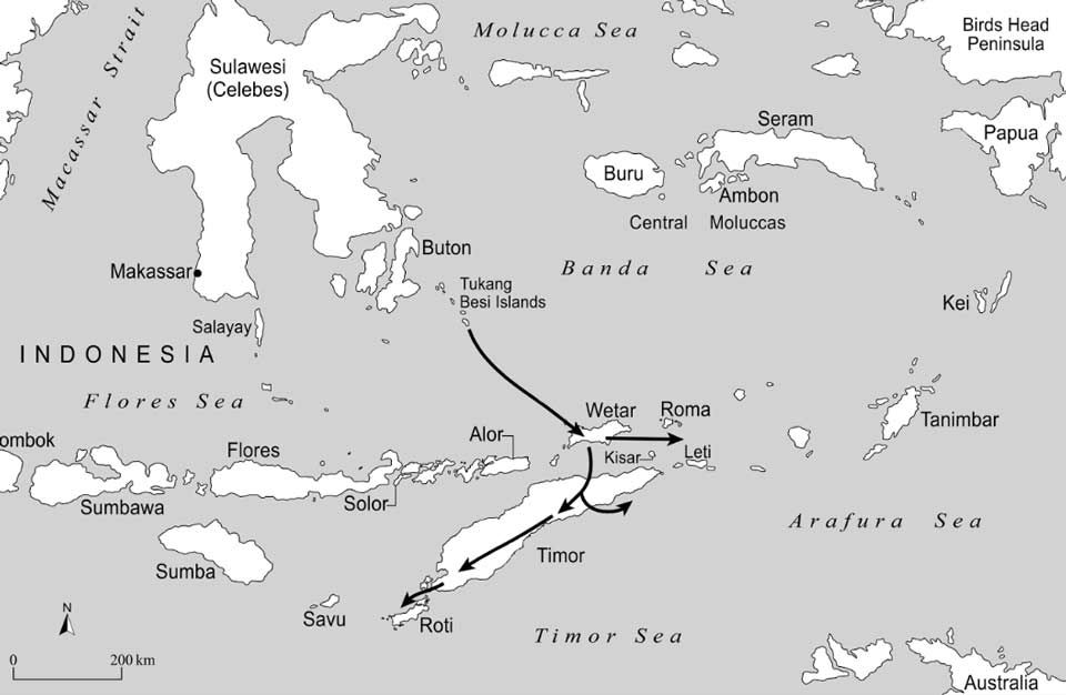 Description: Migration of Timorese Languages