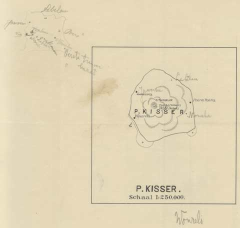 Description: Dutch map of Kisser