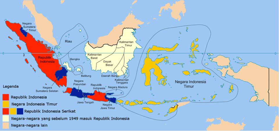 Description: Negara Indonesia Timur