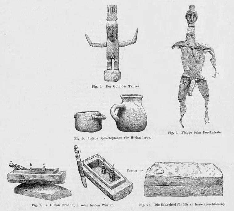 Description: Items collected by de Vries in 1891