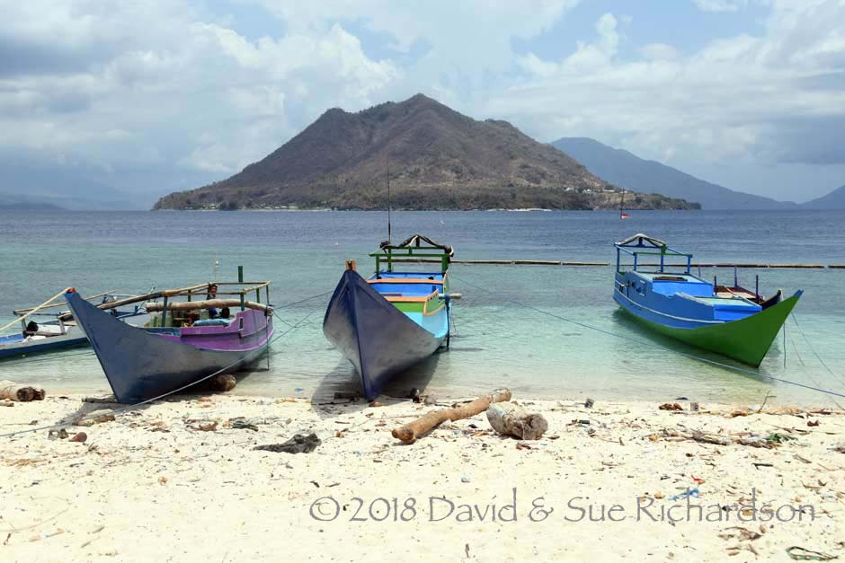 Description: Looking from Buaya towards Ternate