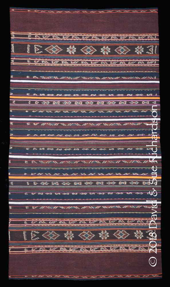 Description: A 'kafate bélang' woven on Buaya