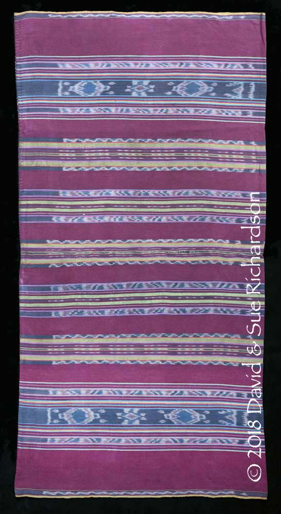 Description: A 'tenapi muko tahakang' woven by Dahlia at Uma Pura