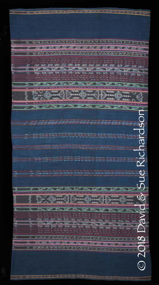 Description: A 'kafate bul ihing launjia' woven in 1993/4