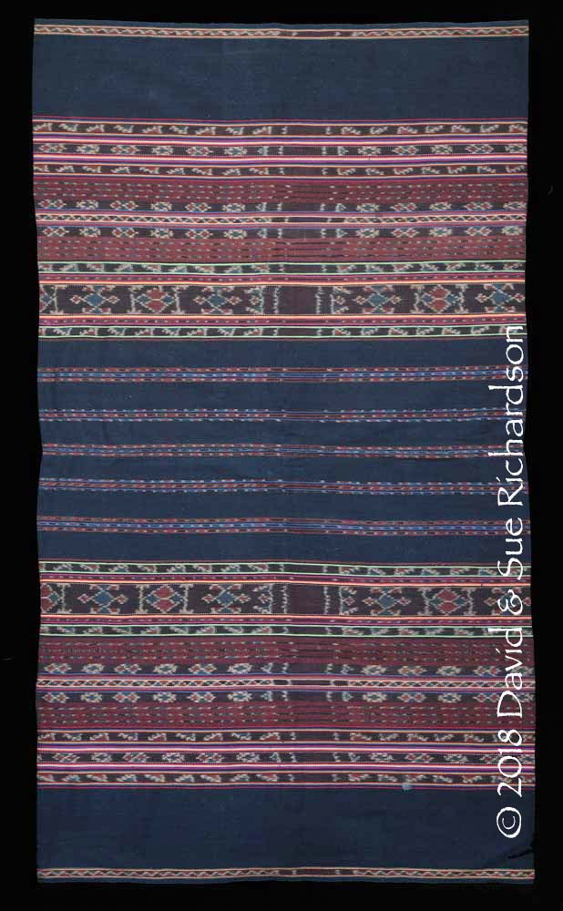 Description: A 'kafate bul ihing launjia' woven in 1993